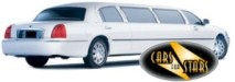 White limousines for hire for weddings in the Shrewsbury area. Wedding limousines Shrewsbury
