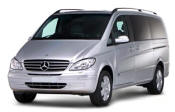 Chauffeur driven Mercedes Viano people carrier - Up to 7 passengers in comfort, from Cars for Stars (Shrewsbury)